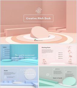 Creative Pitch Deck Keynote Presentation_31 slides