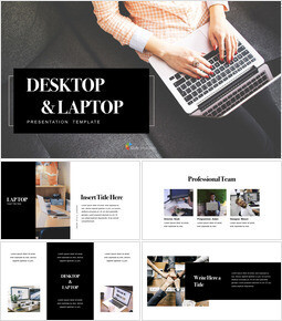 Desktop & Laptop Multipurpose Presentation Keynote Template_40 slides