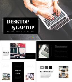 Desktop & Laptop PowerPoint Presentation Templates_00