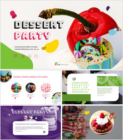 Dessert Simple Google Templates_00
