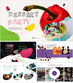 Dessert Theme PPT Templates_00
