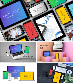Device Mockup PowerPoint Business Templates_25 slides
