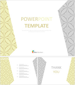 그레이와 옐로우 패턴의 팬시 - 무료 Google 슬라이드 템플릿 디자인_00