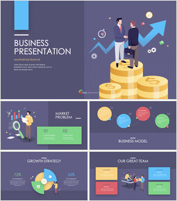 Financial Business Creative Report Interactive Keynote_00