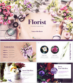 Florist Microsoft Keynote_00