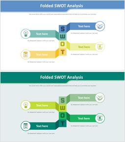 접힌 SWOT 분석 다이어그램_00
