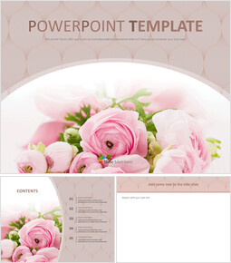 Free Images for Presentations - Bouquet of Flowers As a Present_00