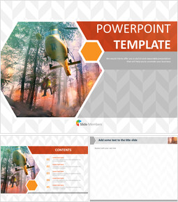 Google Slides Template Free - Life-saving in a Fire_00