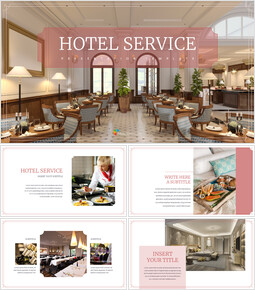 호텔 서비스 편집이 쉬운 구글 슬라이드 템플릿_00