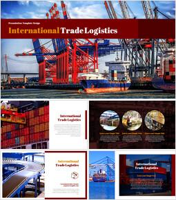 국제 무역 물류 테마 Google 슬라이드_00