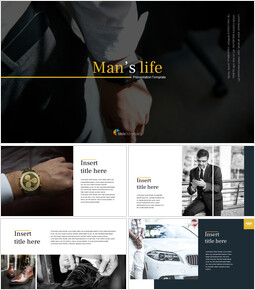Man\'s life Google Slides mac_00