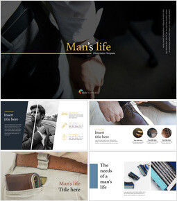 Man\'s life Ultimate Keynote Template_00