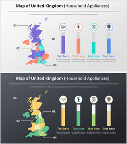 Map of United Kingdom Diagram (Household Appliances)_00