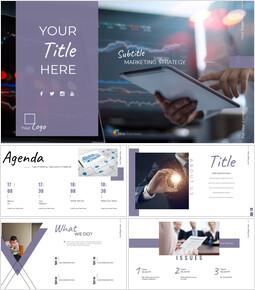 Marketing Deck Diapositive di presentazione di Google_00