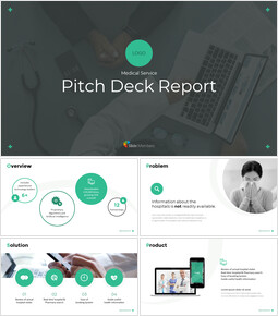 Medical Service Pitch Deck Google Presentation Slides_00