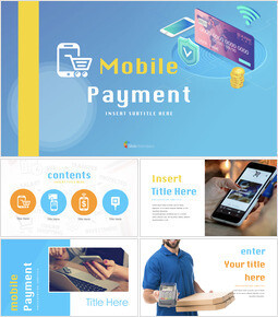 Mobile Payment Keynote Templates for Creatives_40 slides