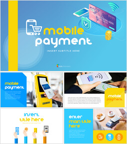 Mobile Payment Simple Templates Design_00
