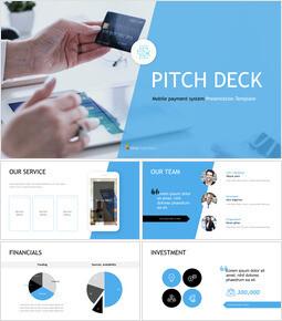 Mobile Payment System Best Keynote_11 slides