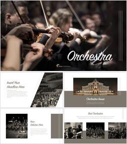 Orchestra Apple Keynote Template_40 slides
