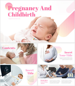 Pregnancy And Childbirth Creative Google Slides_00