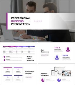 Attività professionale Modelli di presentazione dei diapositivi di Google_00
