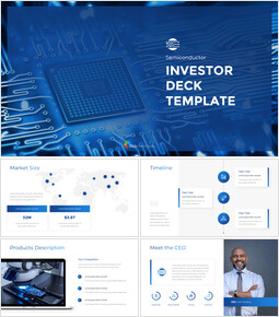 Semiconductor Investor Deck Theme PT Templates_15 slides