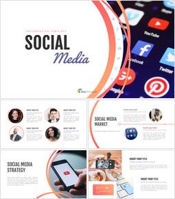소셜 미디어 프레젠테이션용 Google 슬라이드_00