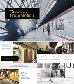 Subway Best Keynote_40 slides