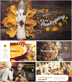 Thanksgiving Day Google Presentation Slides_00