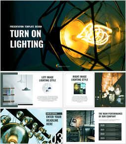 Turn on Lighting Google Slides Themes_00