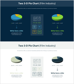Two 3-D Pie Chart (Film Industry)_00