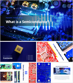 What is a Semiconductor Templates Design_41 slides