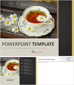A Cup of Herb TeA - Free Google Slides Templates_00