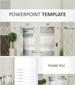 an Elevator - Google Slides Template Free_00