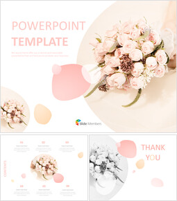 Free Google Slides - Wedding Bouquet_00