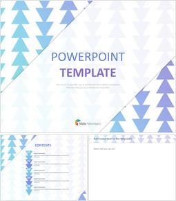 구글슬라이드용 무료 이미지 - 밝은 자주색 그라데이션으로 패턴 화 된 삼각형_00