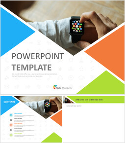 Free Presentation Templates - A Smart Watch_00