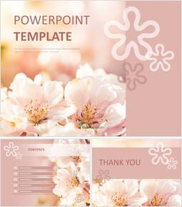 Google Slides Download Free - Colorful Spring Flowers_00