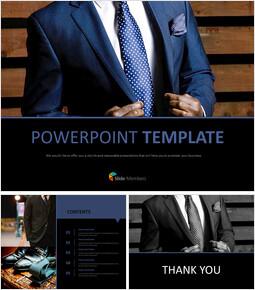 Google Slides online Free - Suits for Business_00