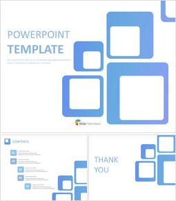 무료 Google 슬라이드 템플릿 - 파란색 사각형_00