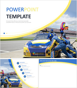 Google Slides Templates Free Download - Car Racing_00