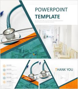Instalaciones hospitalarias - Plantillas profesionales gratuitas de Presentaciones de Google_6 slides
