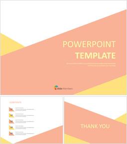 인디 핑크 및 옐로우 배열 - 구글 슬라이드 템플릿 무료 다운로드_00