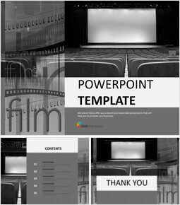 Showing a Movie - Free Presentation Templates_00