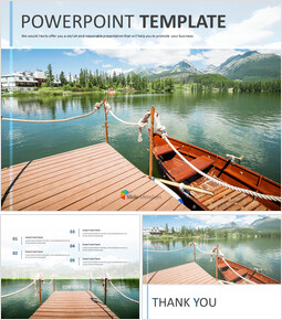 Wooden Boat on a Lake - Free Business Google Slides Templates_00