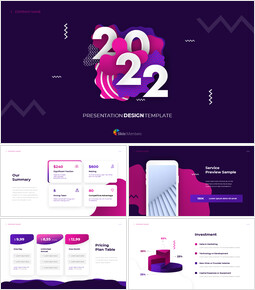 2021 Project Google Slides Presentation Templates_16 slides