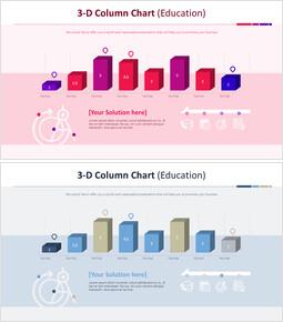 3-D Column Chart (Education)_00