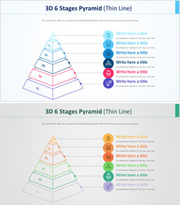 3D 6 Stages Pyramid Diagram (Thin Line)_00