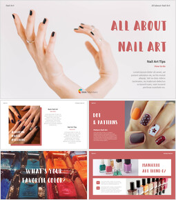 All About Nail Art Action plan PPT_00