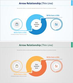 Arrow Relationship Diagram (Thin Line)_00